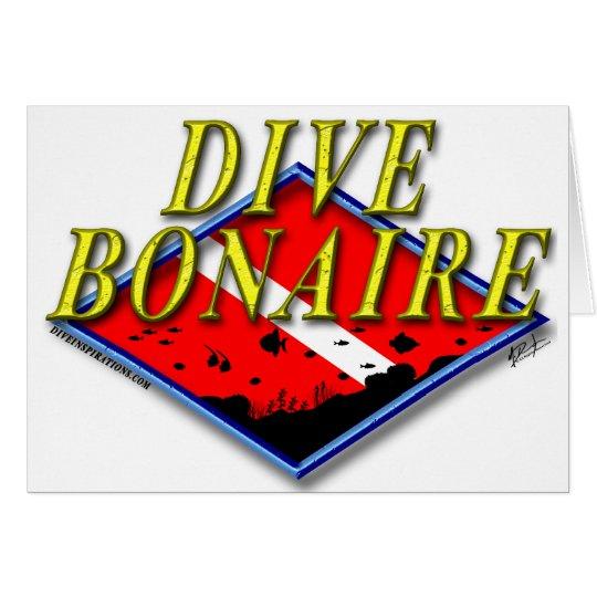 Dive Bonaire Card (blank inside)