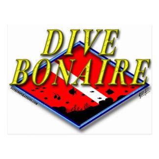 Dive Bonaire Postcard