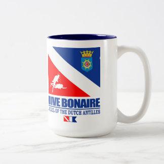 Dive Bonaire Two-Tone Coffee Mug