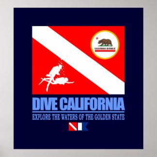 Dive California Posters