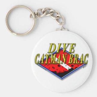 Dive Cayman Brac Keychain