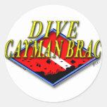 Dive Cayman Brac Sticker