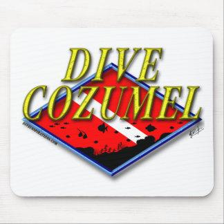 Dive Cozumel Mouse Pad