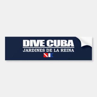 Dive Cuba Bumper Sticker