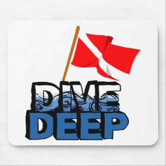 Dive Deep SCUBA Mouse Pad