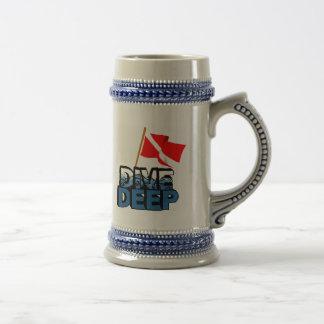 Dive Deep SCUBA Mugs