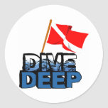 Dive Deep SCUBA Sticker