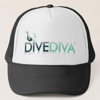Dive Diva Below Trucker Hat