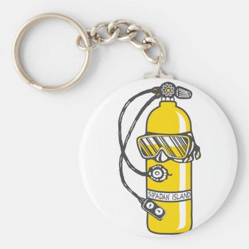 Dive Dive Dive Keychain
