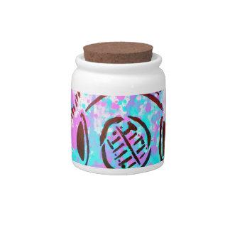 Dive Dive My Darling! Scuba Diver Paper Graffiti Candy Dishes