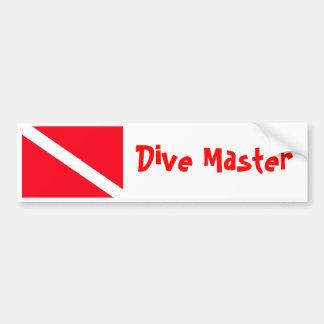 Dive Flag Bumper Sticker
