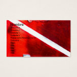 Dive Flag Business Card at Zazzle