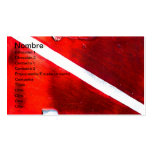 DIVE FLAG Double-Sided STANDARD BUSINESS CARDS (Pack OF 100)