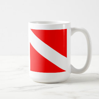 Dive Flag Coffee Mug