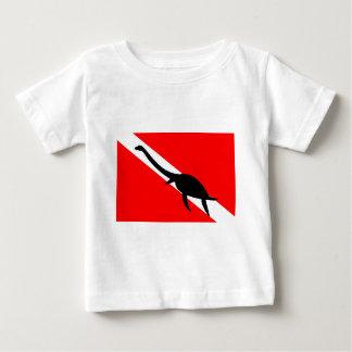 Dive Flag Dinosaur Baby T-Shirt