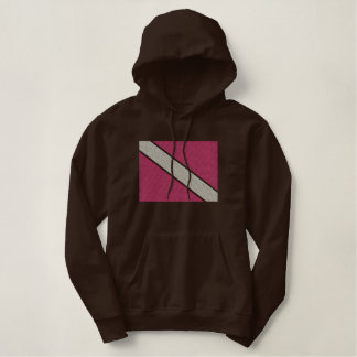Dive Flag Embroidered Hoodie