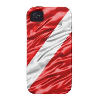 Dive Flag Case-Mate iPhone 4 Fundas