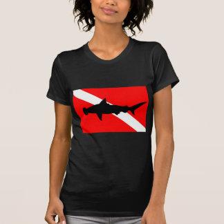Dive Flag Hammerhead Shark II T-Shirt
