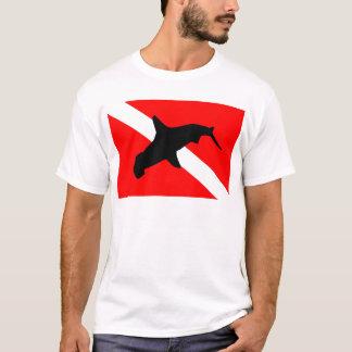 Dive Flag Hammerhead Shark T-Shirt