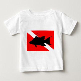 Dive Flag Hogfish Baby T-Shirt
