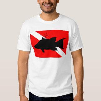 Dive Flag Hogfish Shirt
