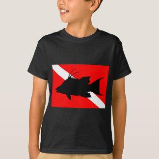Dive Flag Hogfish T-Shirt