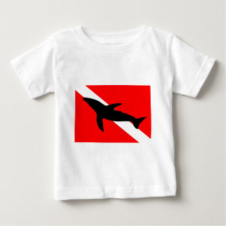 Dive Flag Humpback Whale Baby T-Shirt