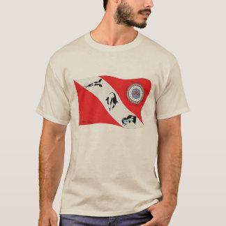 Dive Flag Inspired Artwork T-Shirt