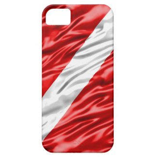 Dive Flag iPhone 5 Carcasas