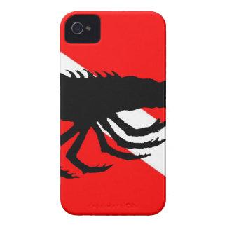 Dive Flag Lobster iPhone 4 Case-Mate Case