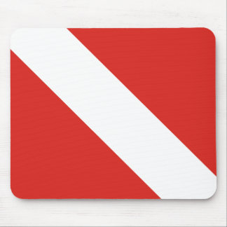 Dive Flag Mouse Pad