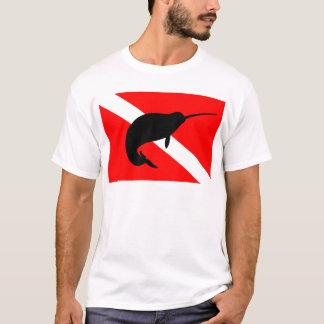 Dive Flag Narwal T-Shirt