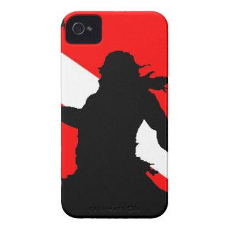 Dive Flag Neptune II iPhone 4 Case-Mate Case