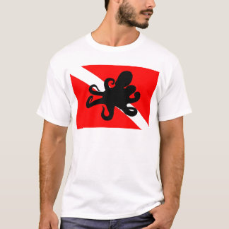 Dive Flag Octopus T-Shirt
