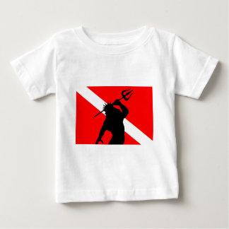 Dive Flag Poseidon Baby T-Shirt