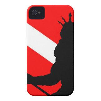 Dive Flag Poseidon II` iPhone 4 Case-Mate Case