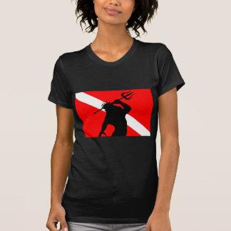 Dive Flag Poseidon T-Shirt