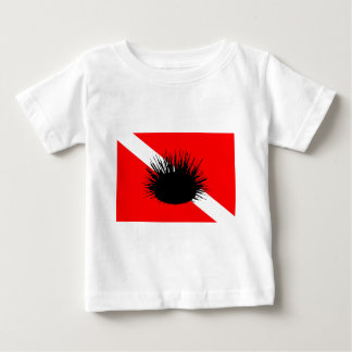 Dive Flag Sea Urchin Baby T-Shirt