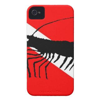 Dive Flag Shrimp iPhone 4 Case
