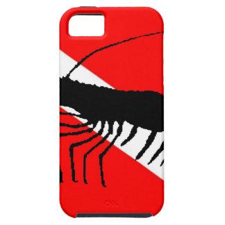 Dive Flag Shrimp iPhone SE/5/5s Case