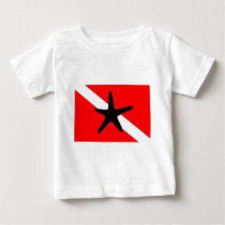 Dive Flag Starfish II Baby T-Shirt