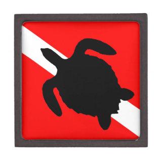Dive Flag Turtle III Gift Box