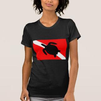 Dive Flag Turtle III T-Shirt
