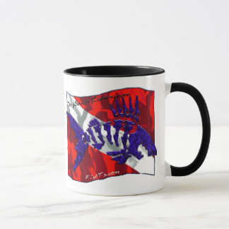 Dive Flags with Gear Mug