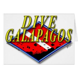 Dive Galapagos Card