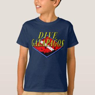 Dive Galapagos Kids Dark T-shirt