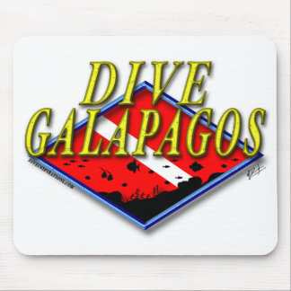 Dive Galapagos Mousepad