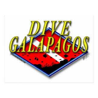 Dive Galapagos Postcard