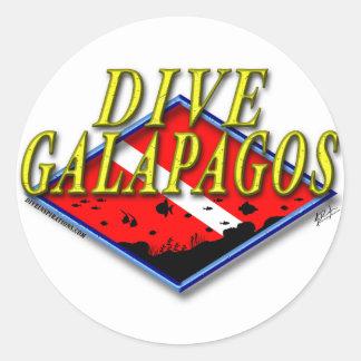 Dive Galapagos Sticker