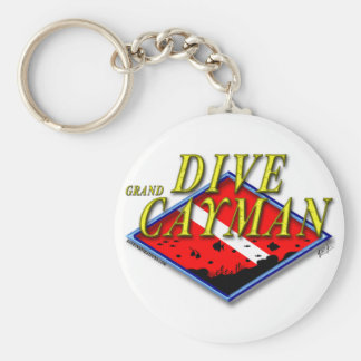 Dive Grand Cayman Keychain